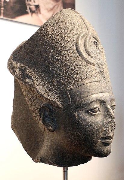 File:Nuovo regno, xix dinastia, testa di sethi I, 1290-1279 ac ca, forse da grottaferrata.jpg