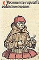 Nuremberg Chronicle f 234v 1 Joannes de rupecissa.jpg