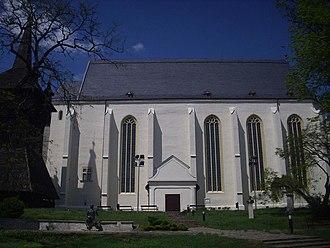 Nyírbátor - Image: Nyírbátor hungary reformad church 3