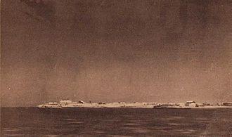 Obock - Panorama of Obock in 1920