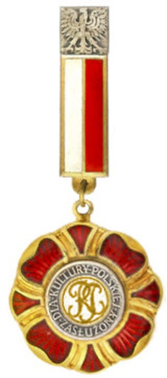 Decoration of Honor Meritorious for Polish Culture - Meritorious for Polish Culture