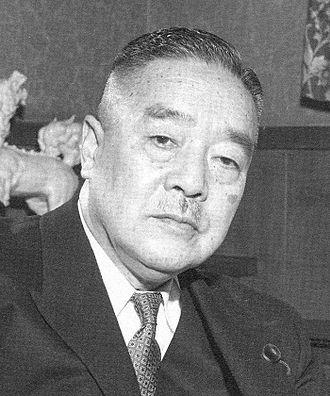 Deputy Prime Minister of Japan - Image: Ogata Taketora 1 2