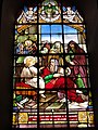Ohain (Nord, Fr) église, vitrail C, (1888).JPG