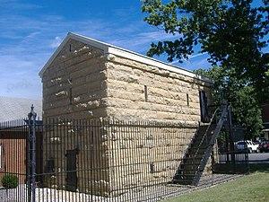 Trimble County, Kentucky - Trimble County Jail, built circa 1850