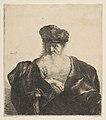 Old Man with Beard, Fur Cap, and Velvet Cloak MET DP814340.jpg