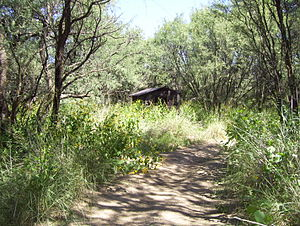 Las Cienegas National Conservation Area - Image: Old Shack Las Cienegas National Conservation Area 2007