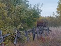 Old Snow Fence along the tracks - panoramio.jpg