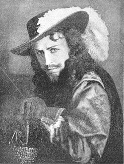 Olof Molander som greve de Guiche