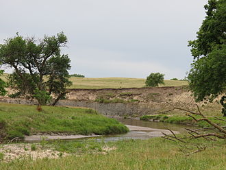 Olson Nature Preserve - A view of Beaver Creek at Olson Nature Preserve.