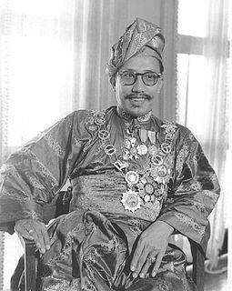 Omar Ali Saifuddien III 28th Sultan of Brunei