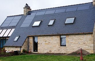 Rooftop photovoltaic power station - Rooftop PV hybrid system.