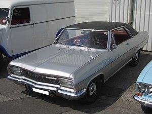 Opel Diplomat - The 2-door Opel Diplomat Coupé was very rare