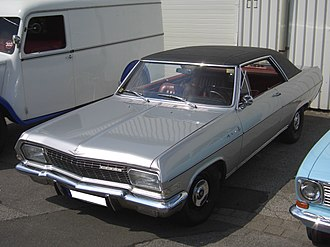 Opel Diplomat - The 2-door Opel Diplomat Coupé was very rare