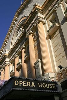 Manchester Opera House theater in Quay Street, Manchester, England