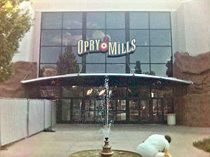 Opry Mills - Image: Opry Mills Entrance