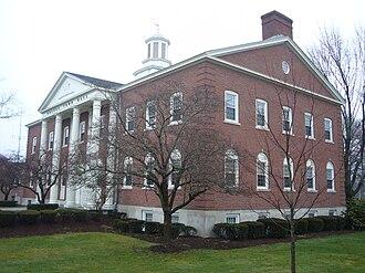 Orange, Connecticut - Orange Town Hall