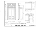 Orange County Courthouse, King and Churton Streets, Hillsborough, Orange County, NC HABS NC,68-HILBO,4- (sheet 15 of 20).png