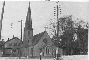 Charles Todd Quintard - The original St. Mary's Cathedral building, Memphis.
