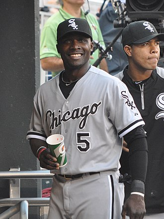 Orlando Hudson - Hudson with the White Sox in 2012