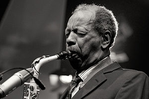 2011 in jazz - Ornette Coleman  at Moers Festival 2011.