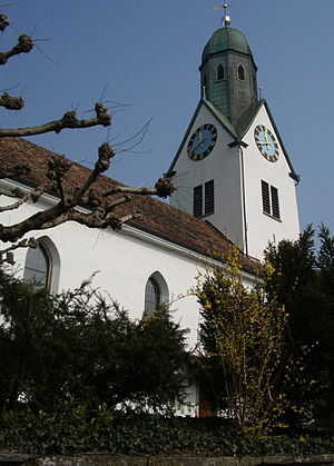 Otelfingen - Protestant church