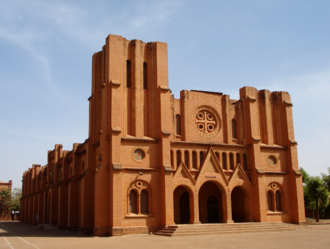 Christianity in Burkina Faso - Cathedral of Ouagadougou
