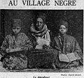 Ouest-Eclair - 1er mai 1929 - Au village nègre, le marabout.jpg