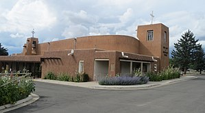Our Lady of Guadalupe Parish (Taos, New Mexico) - Image: Our Lady of Guadalupe Church 5