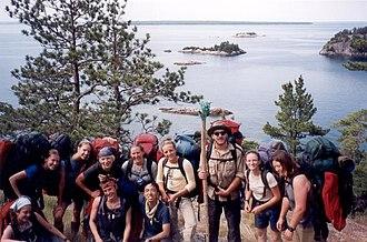 Outward Bound - An Outward Bound excursion at Lake Superior Provincial Park, Ontario, Canada