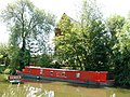 Oxford - Canal Boat on the River - geograph.org.uk - 1328017.jpg