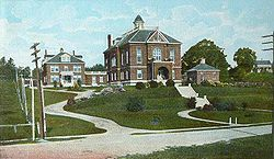 Oxford County Courthouse in 1907