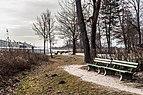 Pörtschach Halbinselpromenade Landspitz Bänke und Schiffsanlegestelle 11022018 2655.jpg