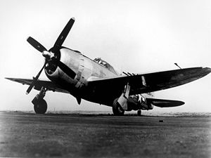 535th Airlift Squadron - P-47 Thunderbolt as used by the 535th Fighter Squadron for training