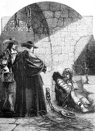 John Felton (assassin) - Felton in Prison, illustration from 'Cassell's illustrated history of England (1865)