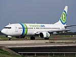 PH-HZF Transavia Boeing 737-8K2(WL) - cn 28378 taxiing, 25august2013 pic-4.JPG