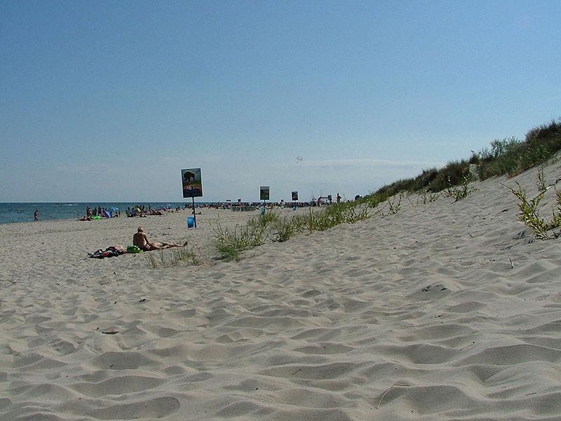 plaża w polsce - morze bałtyckie