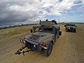 PRNG 1600 EOD and 192nd BSB convoy react to contact training by FLNG Special Forces 140713-A-KD550-096.jpg