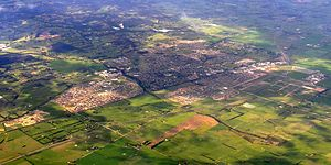 Pakenham, Victoria - Aerial view from south west