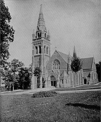 Asa Packer - Image: Packer Memorial Church 1896
