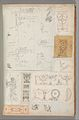 Page from a Scrapbook containing Drawings and Several Prints of Architecture, Interiors, Furniture and Other Objects MET DP372152.jpg