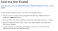 Page not found on Camino web browser when trying to find anonymous' website.png