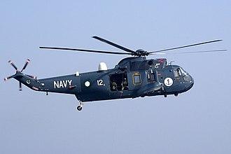 Pakistan Naval Air Arm - A Pakistani Westland Sea King
