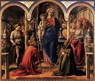<i>Barbadori Altarpiece</i> artwork by Filippo Lippi