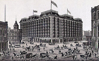 Palace Hotel, San Francisco - The 1875 Palace Hotel