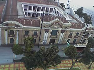 Palacio Municipal de Caracas - An aerial view of the Palacio Municipal de Caracas.