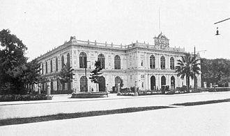 History of Lima - The Palacio de la Exposición was built to house an International Exposition in 1872.