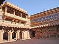 Palatial Complex inside Gwalior Fort.jpg