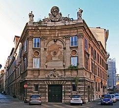 Palazzo della Zecca Vecchia, Roma (1520-1524) iniciado por Bramante en 1504
