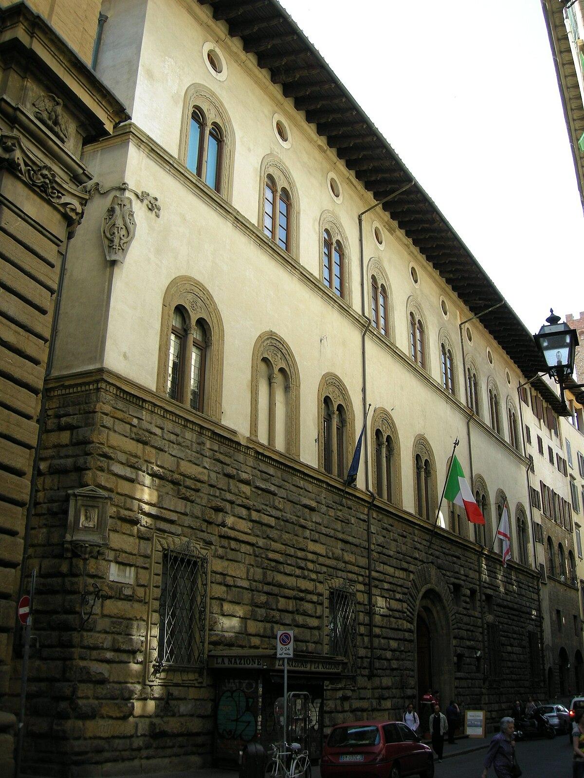 Renaissance Zone >> Palazzo Pazzi - Wikipedia