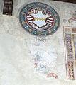 Palazzo vicariale di certaldo, primo piano, sala del vicario, stemma aldobrandini 02.JPG